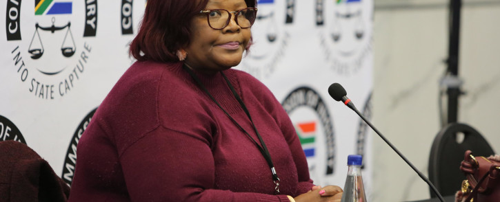 FILE: Former ANC MP Vytjie Mentor gives testimony in the state capture commission of inquiry on 27 August 2018.  Picture: Christa Eybers/EWN