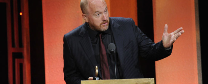 Horace and Pete Executive Producer Louis CK speaks on stage during The 76th Annual Peabody Awards Ceremony at Cipriani, Wall Street on May 20, 2017 in New York City. Picture: AFP.