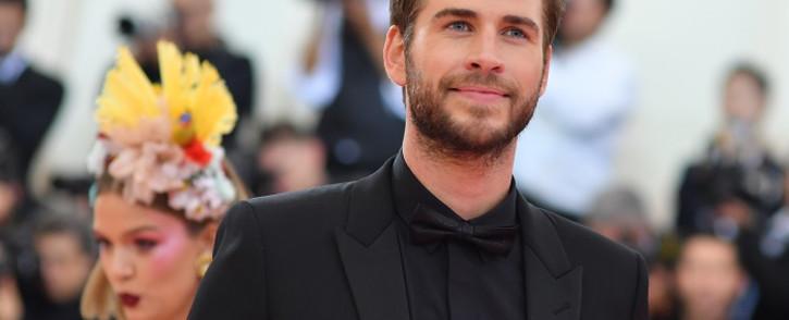 FILE:  Australian actor Liam Hemsworth. Picture: AFP.
