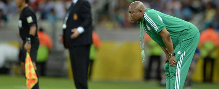 FILE: Former Nigerian head coach, Stephen Keshi. Picture: Facebook.