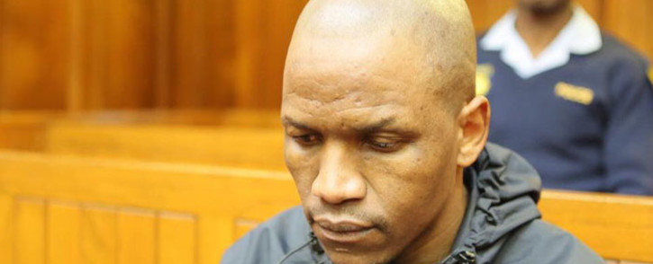 Convicted serial rapist Sikhangele Mki. Picture: @SAPoliceService/Twitter