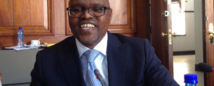 Treasury's acting chief procurement officer Willie Mathebula. Picture: Gaye Davis/EWN.