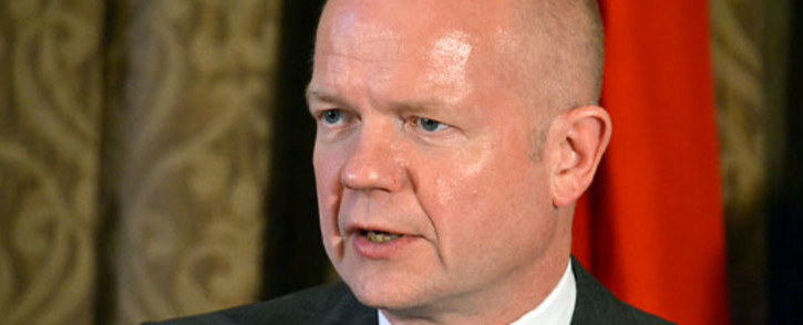 FILE: Former Conservative Party leader William Hague. Picture: AFP.