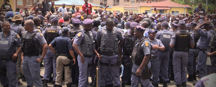 A Nigerian man died after allegedly swallowing drugs when confronted by police. Picture : Kgothatso Mogale/EWN
