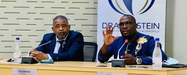 Western Cape Transport MEC Bonginkosi Madikizela in Paarl at the Drakenstein Municipality on Wednesday 7 October 2020. Picture: @MadikizelaBongz/Twitter