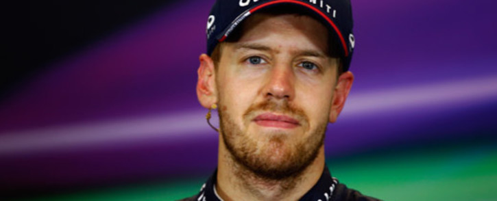 FILE: Sebastian Vettel and Infiniti Red Bull Racing talks to the media after winning the United States Formula One Grand Prix at Circuit of The Americas on 17 November, 2013 in Austin, United States. Picture:AFP