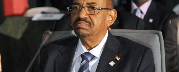 FILE: Sudanese President Omar al-Bashir attending the opening session of the African Union Summit in Abuja in July 2013. Picture: AFP.