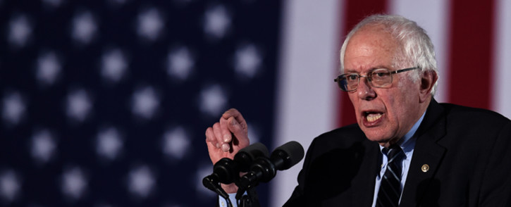 US Democratic presidential candidate Bernie Sanders. Picture: AFP.