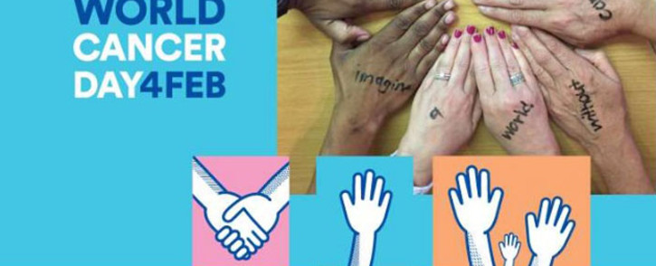 World Cancer Day poster. Picture: cansa.org.za