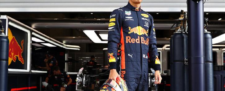 Red Bull driver Alexander Albon. Picture: @redbullracing/Twitter