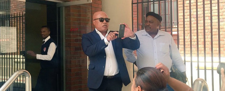 Tony Yengeni at the Cape Town Magistrates Court on 11 December 2015. Picture: Xolani Koyana/EWN.