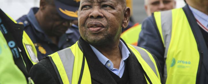 Transport Minister Blade Nzimande. Picture: Cindy Archillies/EWN