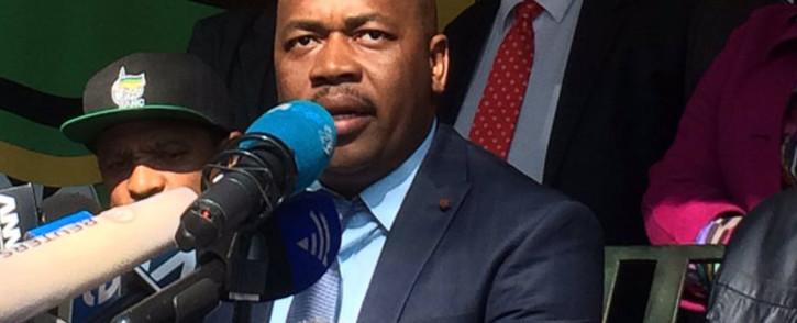 Newly elected Mayor of Ekurhuleni Mzwandile Masina. Picture: @GautengANC.