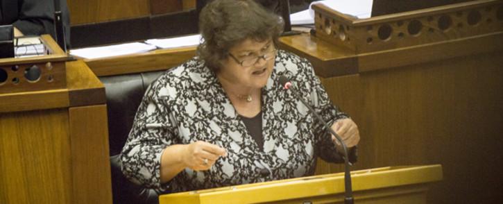 Public Enterprises Minister Lynne Brown. Picture: Thomas Holder/EWN.