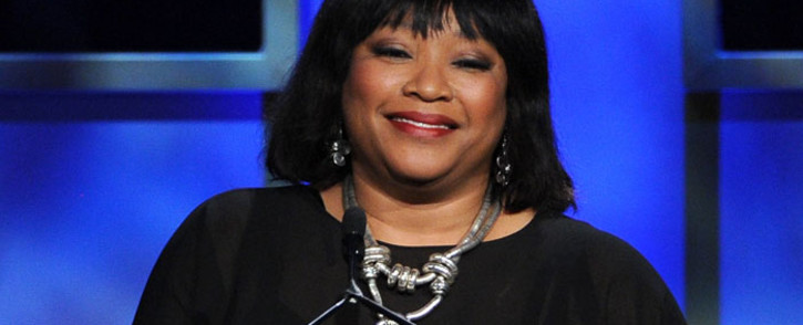 FILE: Zindzi Mandela speaks onstage during the 2013 BAFTA LA Jaguar Britannia Awards presented by BBC America at The Beverly Hilton Hotel on 9 November 2013 in Beverly Hills, California. Picture: AFP