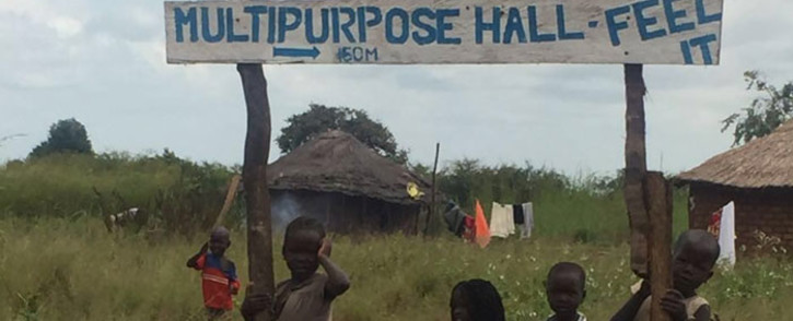 FILE: Pigirinya refugee camp along Uganda's border. Picture: Aurelie Kalenga/EWN