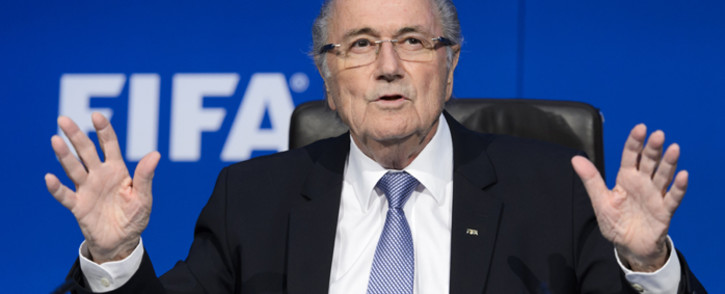 FILE: Former Fifa boss Sepp Blatter. Picture: AFP.