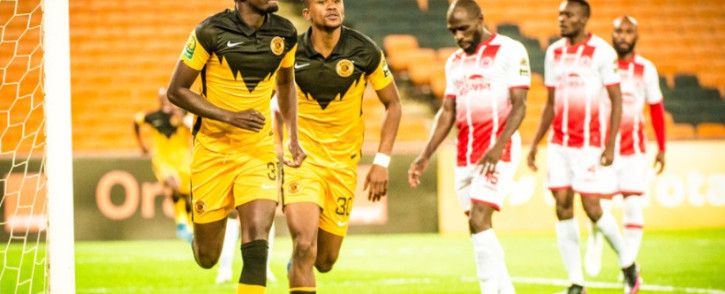Mulomowandau 'Tower' Mathoho became the top goal scorer for Chiefs in the CAF Champions League after scoring his 6th goal in the tournament. Chiefs beat Simba on Saturday, 15 May 2021. Picture: Twitter/@KaizerChiefs