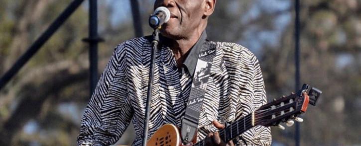 Zimbabwean musician Oliver Mtukudzi. Picture: @CityofJoburgZA/Twitter