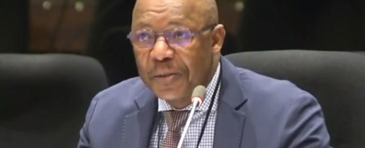 A screengrab of former Public Investment Corporation (PIC) CEO Dan Matjila appearing at the commission of inquiry into the Public Investment Corporation (PIC) on 11 July 2019.