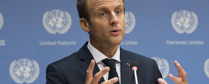 Emmanuel Macron, President of France. Picture: United Nations Photo.
