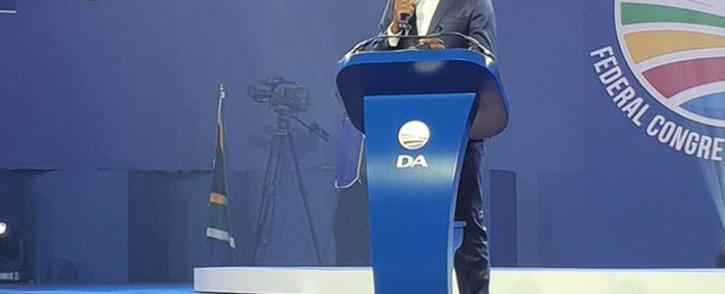 FILE: Democratic Alliance (DA) leader Mmusi Maimane. Picture: Twitter/@Our_DA