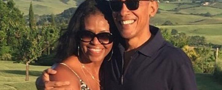 Former US president Barack Obama and former first lady  Michelle Obama. Picture: @barackobama/EWN
