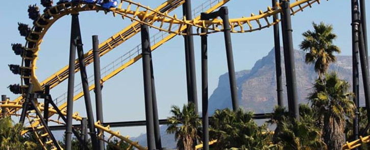 One of the daring rides known as The Cobra at Ratanga Junction, Cape Town. Picture: Facebook.com.