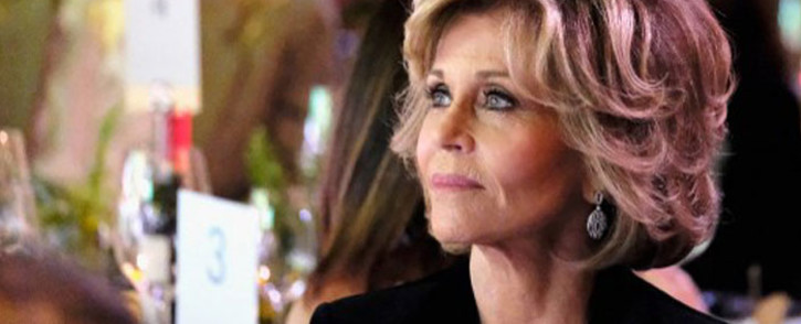 FILE: Actress Jane Fonda attends the 14th Annual Global Green Pre Oscar Party at TAO Hollywood on 22 February 2017 in Los Angeles, California. Picture: AFP.