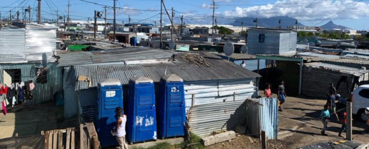 Dunoon in Cape Town is one of the areas identified to be de-densified to curb the spread of coronavirus in South Africa. Picture: Kaylynn  Palm/EWN