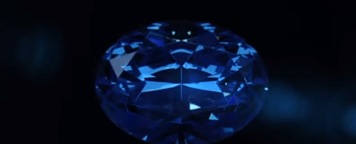 The Okavango Blue. Picture: Okavango Diamond Company/YouTube