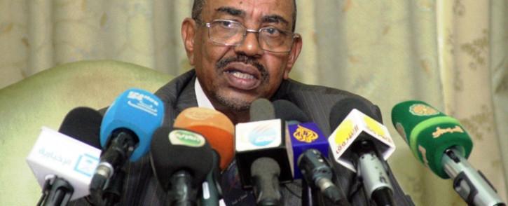 FILE: Sudanese President Omar Al Bashir. Picture: AFP.