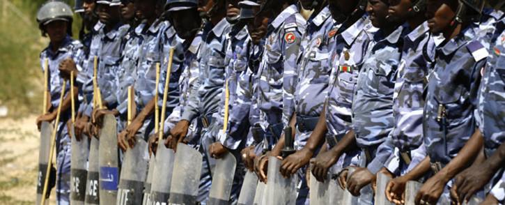 FILE: Sudan police. Picture: AFP