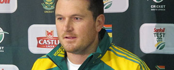 FILE: Former Proteas captain Graeme Smith addresses a press conference in Cape Town. Picture: EWN