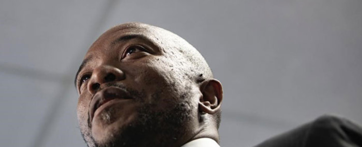 FILE: Mmusi Maimane announces his resignation as Democratic Alliance leader at the party's headquarters in Bruma, Johannesburg on 23 October 2019. Picture: Abigail Javier/EWN