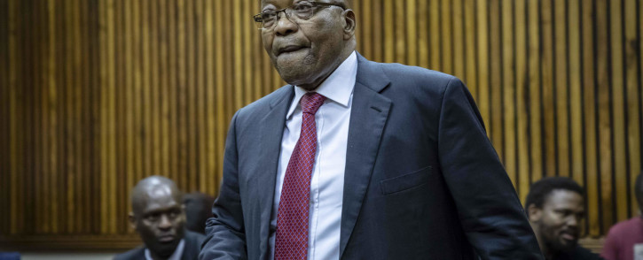 FILE: Earlier on Friday, the court dismissed Zuma's application for the case to be struck off the roll meaning his trial is expected to start next week Tuesday. Picture: EWN