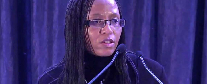 Former Eskom's finance director Tsholofelo Molefe. Picture: Youtube.com