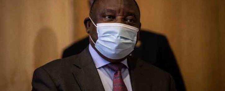 FILE: President Cyril Ramaphosa. Picture: Abigail Javier/Eyewitness News