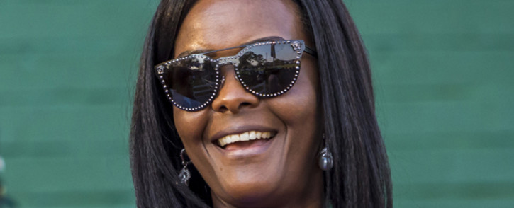 FILE: Former Zimbabwe first lady Grace Mugabe. Picture: AFP.
