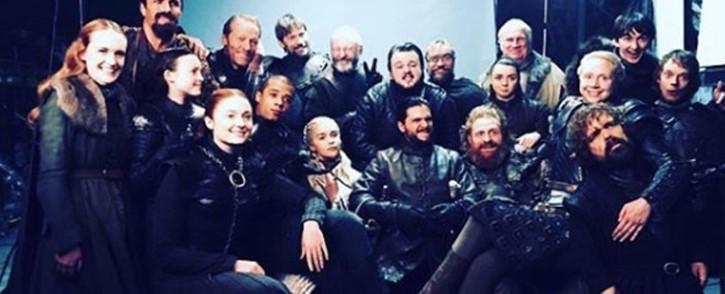 'Game of Thrones' cast members. Picture: @sophiet/instagram.com
