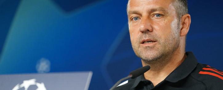 Bayern Munich head coach Hansi Flick. Picture: @FCBayernEN/Twitter