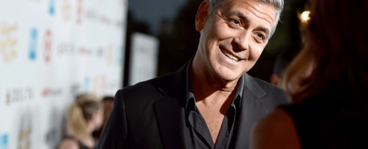 "FILE: George Clooney attends the MPTF 95th anniversary celebration with ""Hollywood's Night Under The Stars"" at MPTF Wasserman Campus on 1 October 2016 in Los Angeles, California. Picture: AFP."