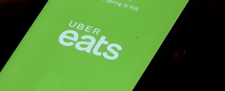 A screenrgab of the Uber Eats app.