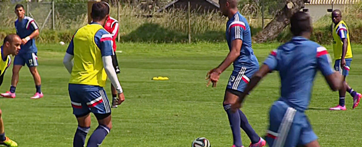 FILE: Members of Ajax Cape Town during their practice. Picture: EWN.