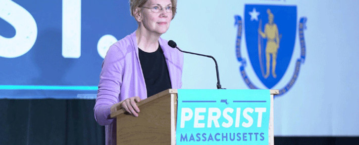 Democratic Senator Elizabeth Warren. Picture: Facebook.