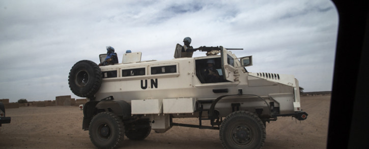 Members of the MINUSMA Formed Police Unit in Mali. Picture: United Nations Photo.