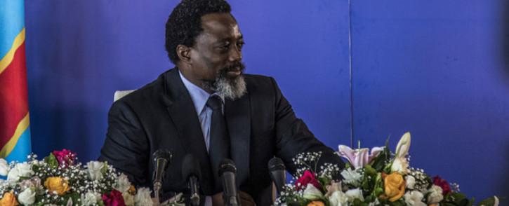 FILE: Democratic Republic of Congo president Joseph Kabila. Picture: AFP