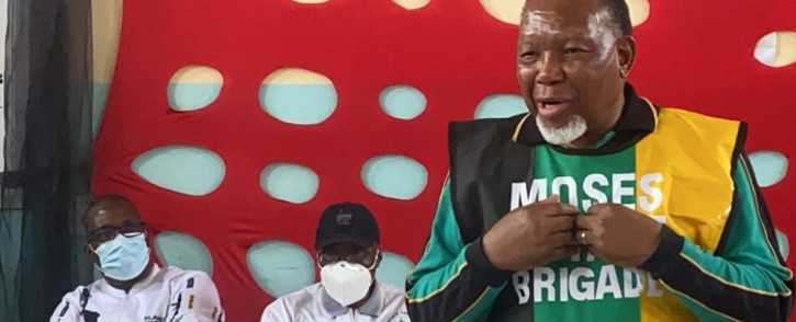 Former ANC deputy president Kgalema Motlanthe in Pretoria on Friday, 22 October 2021. Picture: Gauteng ANC/Twitter.