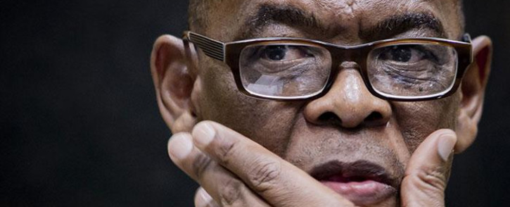 African National Congress (ANC) secretary general Ace Magashule at the press briefing in Moses Mabhida Stadium, Durban on 11 January 2019. Picture: Sethembiso Zulu/EWN