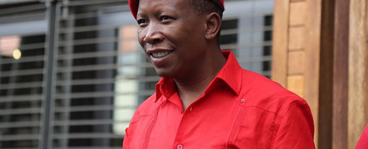 FILE: EFF leader Julius Malema leaves the Constitutional Court on 30 March 2017 after filing an application to order the Speaker of Parliament to institute impeachment or disciplinary proceedings against President Jacob Zuma for conduct associated with the Nkandla scandal. Picture: Christa Eybers/EWN.